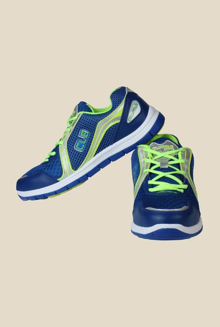Columbus FM-3 Blue & Green Running Shoes