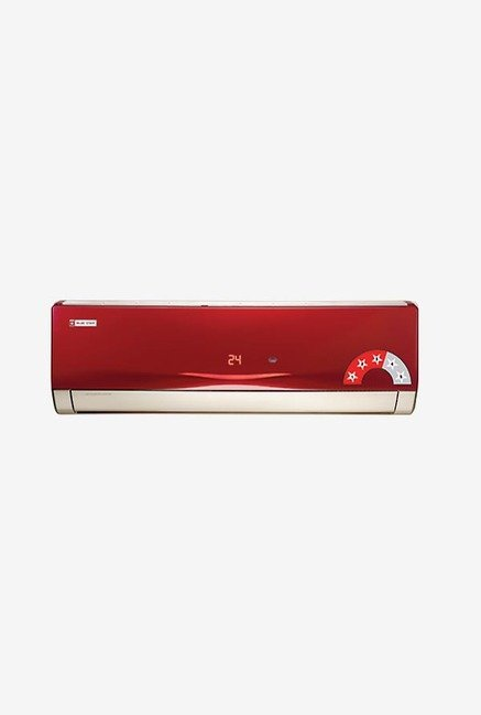 Blue Star 3HW12VARU 1 Ton 3 Star Copper Split AC (Wine Red)