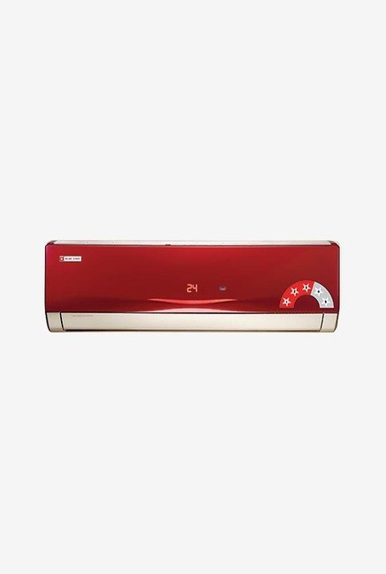Blue Star 3HW18VARU 1.5 Ton 3 Star Copper Split AC Wine Red