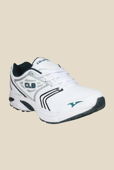 Columbus LD-004 White & Black Training Shoes