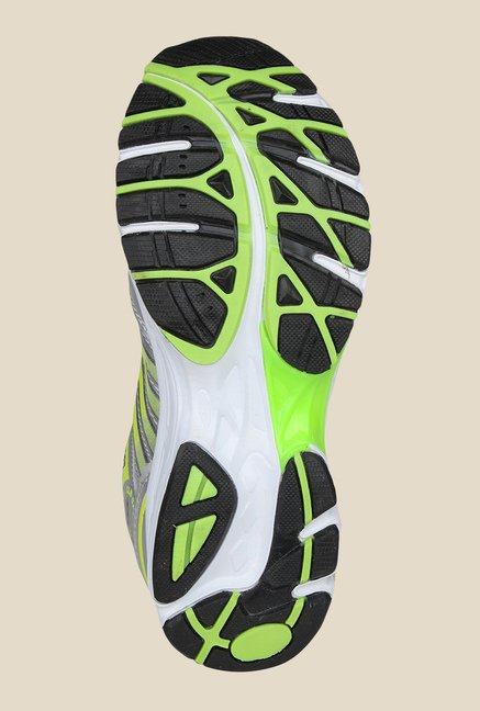 Columbus RC-001 Silver & Green Training Shoes