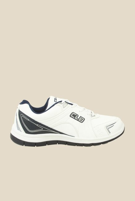 Columbus FM-10 White & Grey Running Shoes