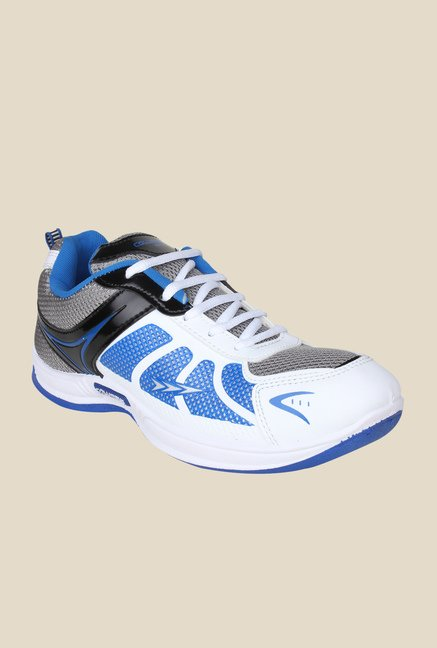 Columbus Tab-2003 White & Blue Running Shoes