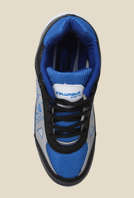 Columbus Tab-105 Black & Blue Running Shoes