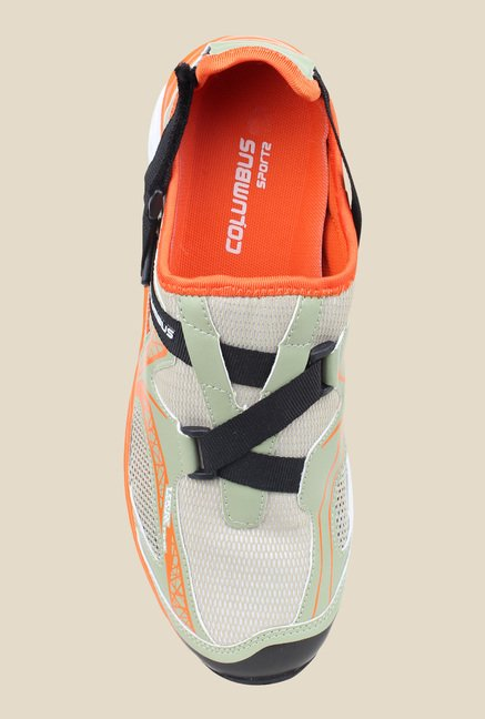 Columbus Jack Green & Orange Training Shoes