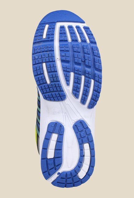 Columbus Tab-5004 Royal Blue & Green Running Shoes
