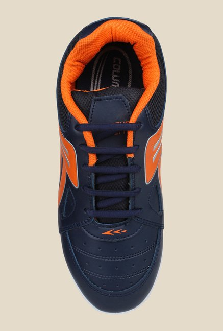 Columbus Tab-5003 Navy & Orange Running Shoes