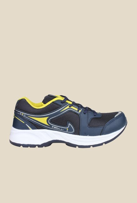 Columbus TB-12 Navy & Yellow Running Shoes