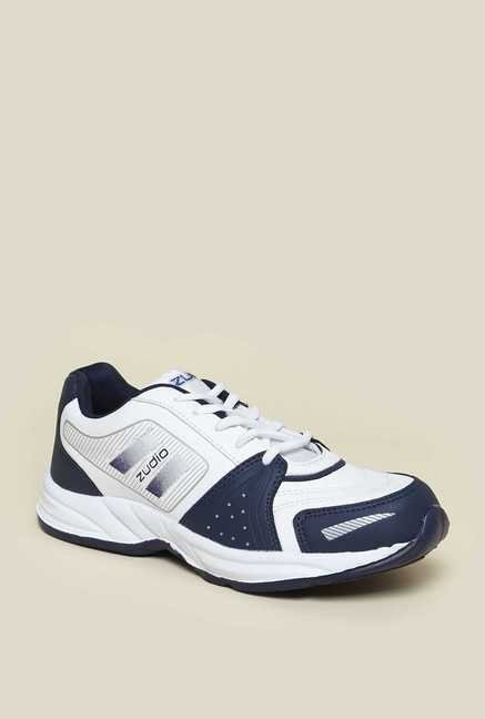 Zudio White Training Shoes