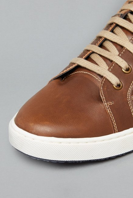 Azzurro by Westside Tan Sneakers