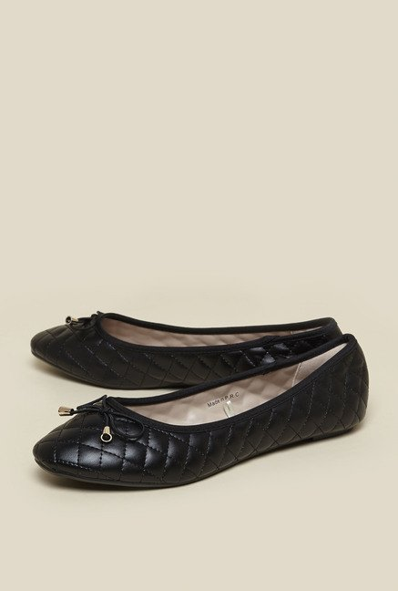 Zudio Black Ballerina Shoes