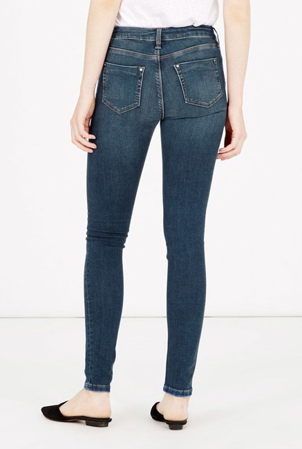 Warehouse Blue Skinny Fit Jeans