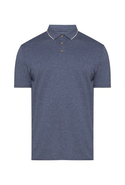 Oak & Keel by Westside Navy Polo T Shirt