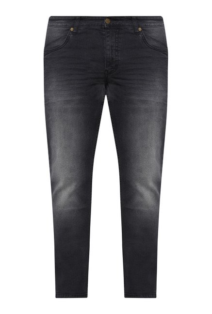 Oak & Keel by Westside Black Lightly Washed Jeans