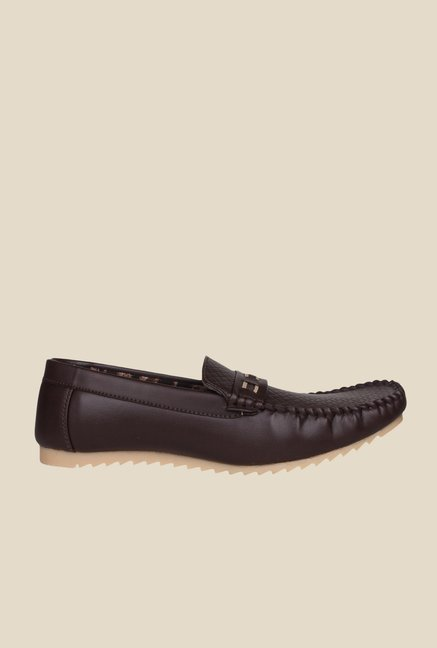 Pede milan Dark Brown Mocassins