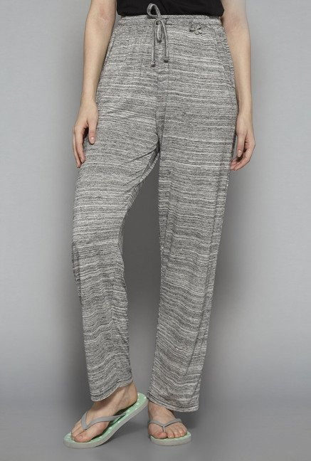 Intima by Westside Grey Textured Pyjama
