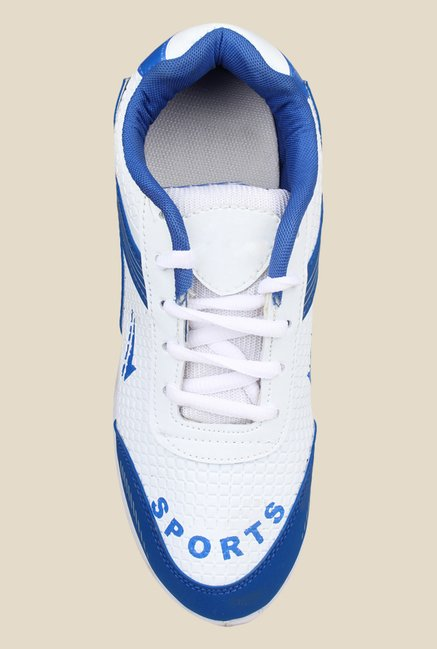 Pede milan Dakon Max White & Blue Running Shoes