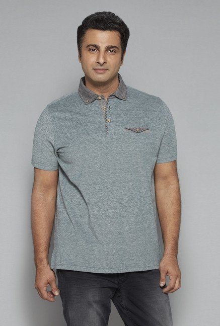 Oak & Keel by Westside Green Polo T Shirt