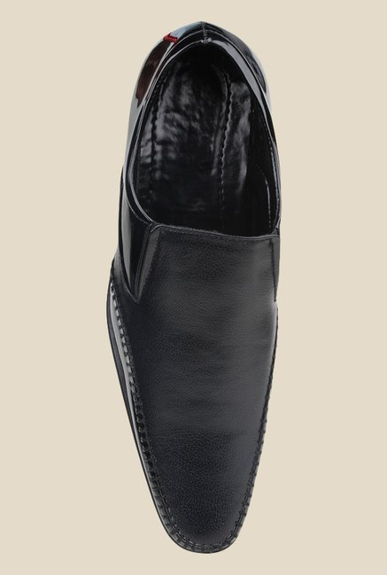 Pede milan Black Formal Slip-Ons