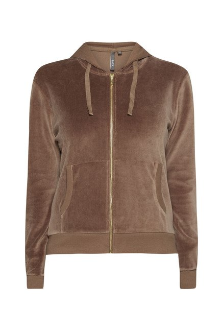 LOV by Westside Taupe Megan Jacket