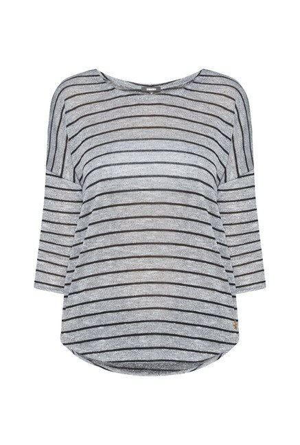 Nuon by Westside Grey Sian Top