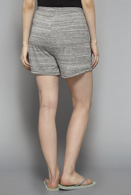 Intima by Westside Grey Textured Shorts