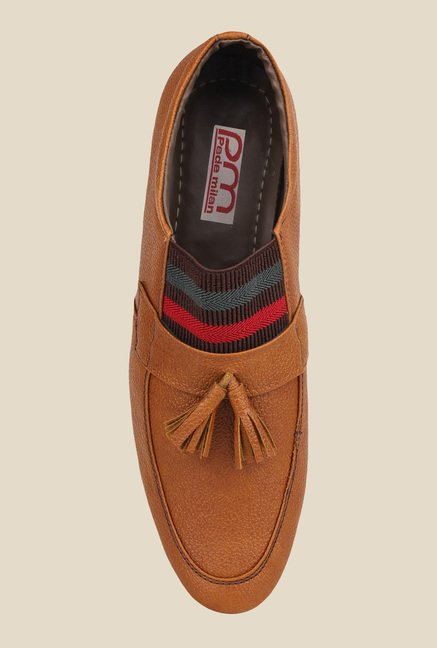 Pede milan Tan Casual Mocassins