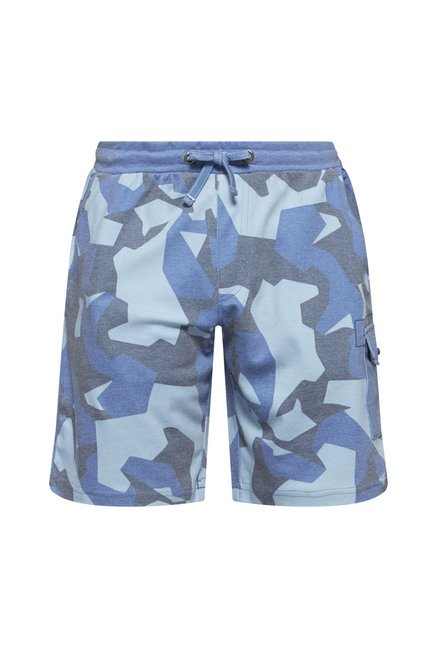 Nuon by Westside Blue Slim Fit Shorts