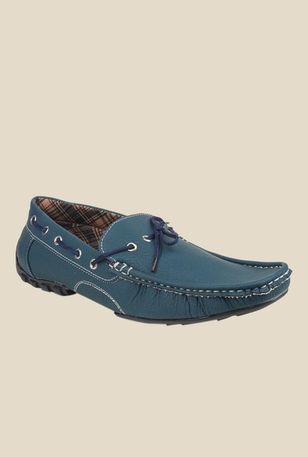 Pede milan Blue Boat Shoes