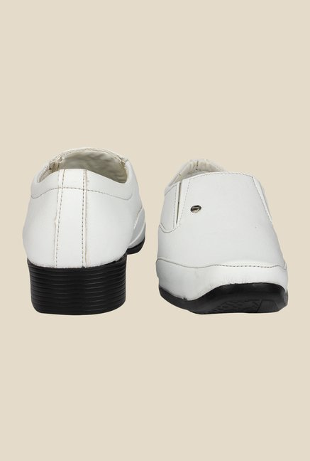 Pede milan White Formal Slip-Ons