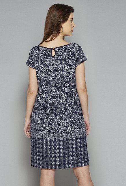 LOV by Westside Navy Pasha Dress