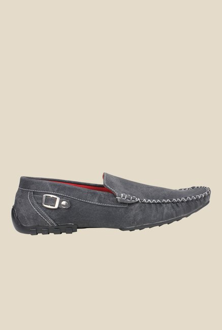 Pede milan Dark Grey Casual Loafers