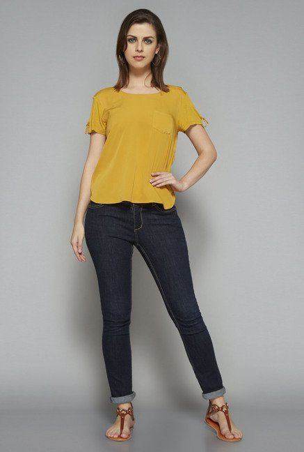 LOV by Westside Mustard Zoe T Shirt