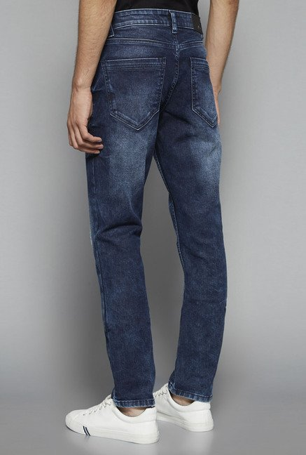 Nuon by Westside Blue Hendrix Slim Fit Jeans