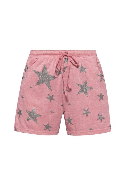 Intima by Westside Pink Printed Shorts