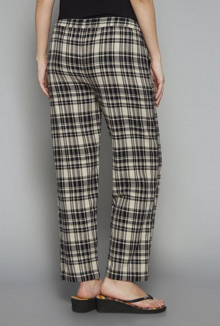 Intima by Westside Black Checks Pyjama