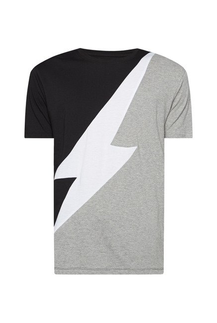 Nuon by Westside Multicolor Slim Fit T Shirt