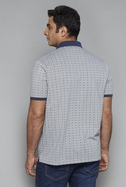 Oak & Keel by Westside Grey Polo T Shirt
