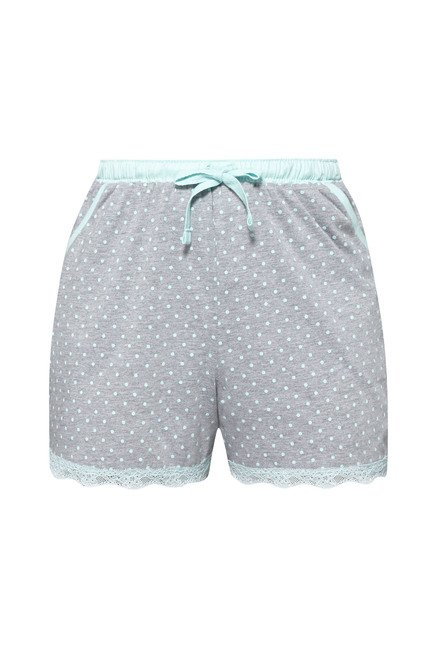 Intima by Westside Grey Polka Dot Shorts