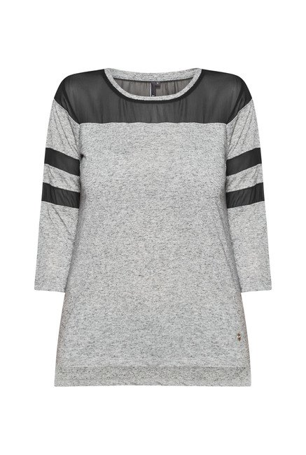 LOV by Westside Grey Jennifer T Shirt