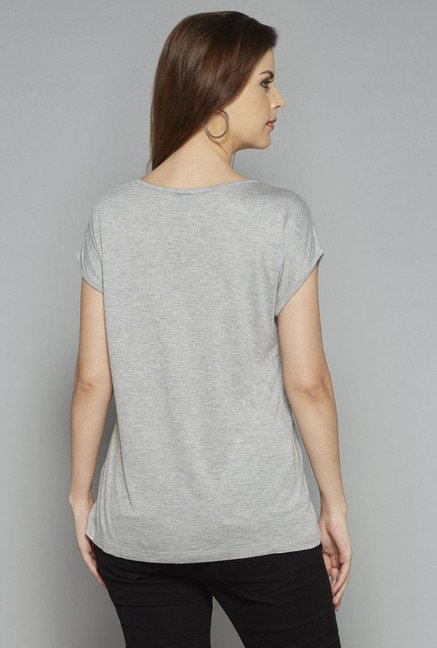 LOV by Westside Grey Shimona T Shirt