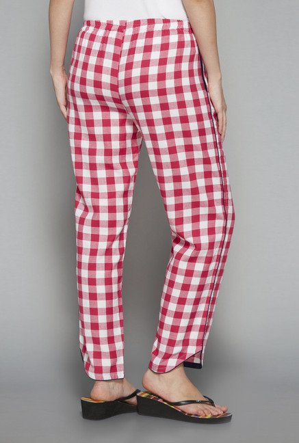 Intima by Westside Pink Checks Pyjama