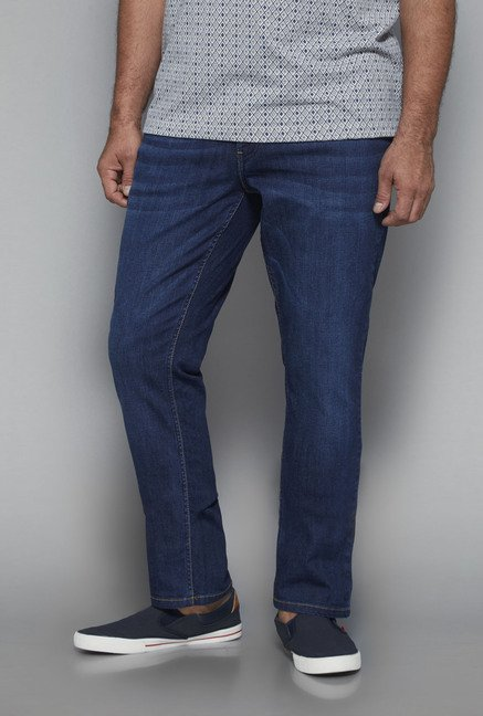 Oak & Keel by Westside Blue Raw Denim Jeans