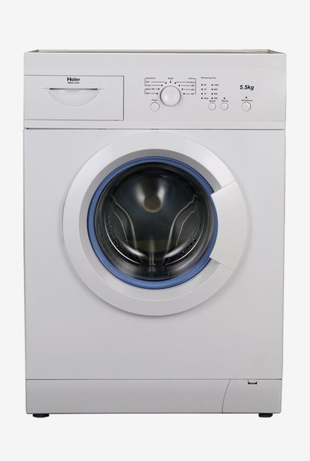 Haier 5.5Kg Fully Automatic Front Load Washing Machine Silver (HW55-1010ME, Silver)