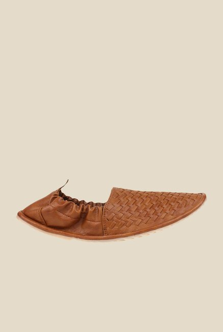 Pede milan Tan Espadrille Shoes