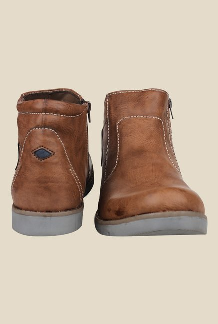 Pede milan Brown Casual Boots
