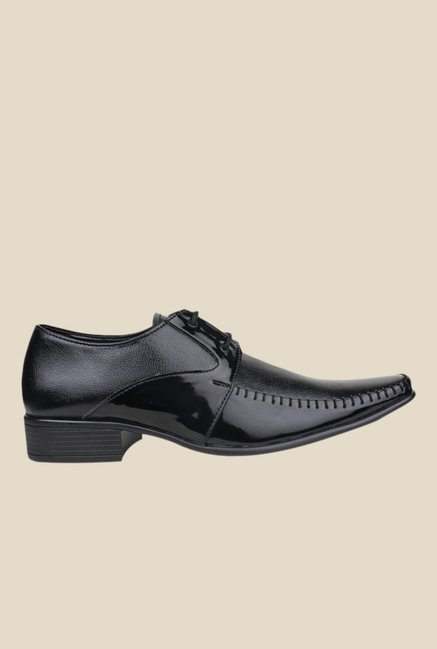 Pede milan Black Derby Shoes