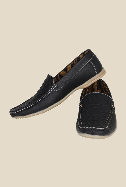 Pede milan Black Casual Loafers