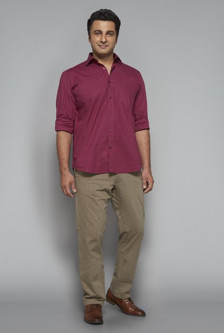 Oak & Keel by Westside Wine Solid Shirt