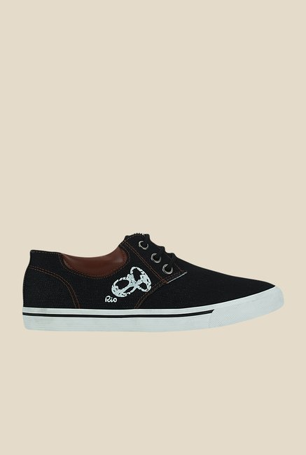 Get Glamr Renoir Black & Brown Sneakers